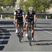 Afbeelding samen fietsen