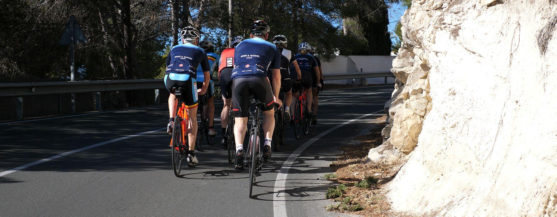 Leuke fietsroutes in Calpe