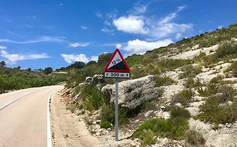 Uitdagende fietsvakantie in Spanje